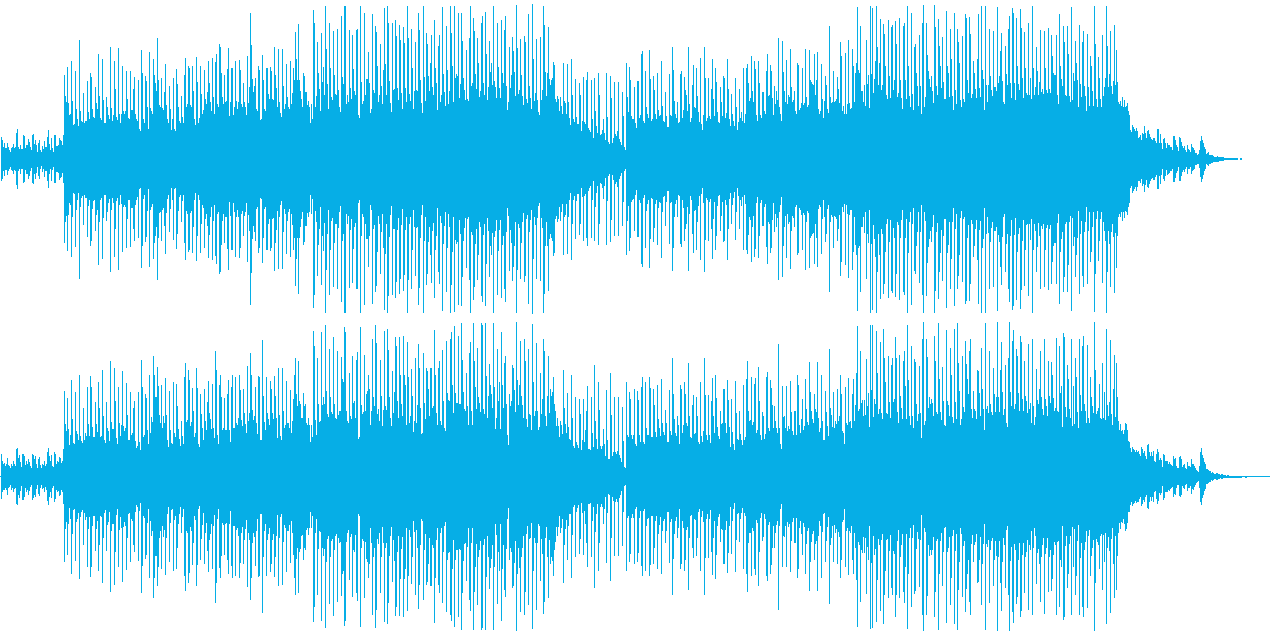 VP系10、生アコギ、温かく感動的Aの再生済みの波形