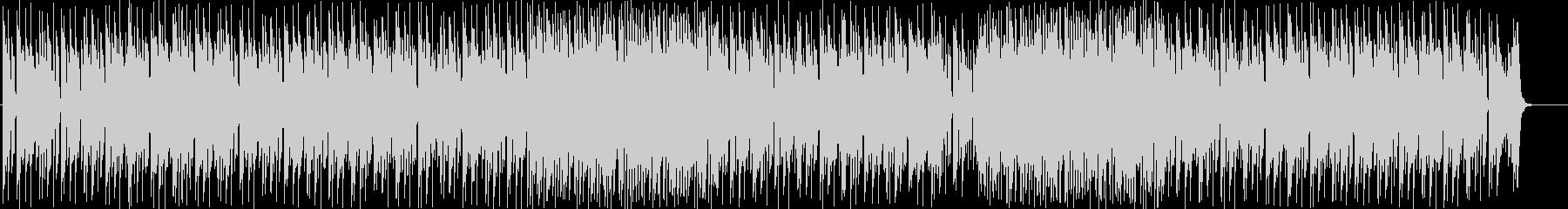 速いテンポのシンセサイザーサウンドの未再生の波形
