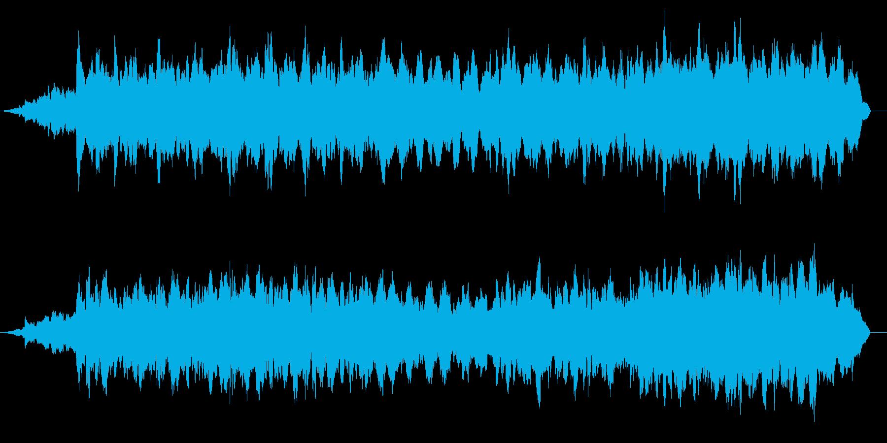 ドキュメンタリー系 活断層風サウンドの再生済みの波形