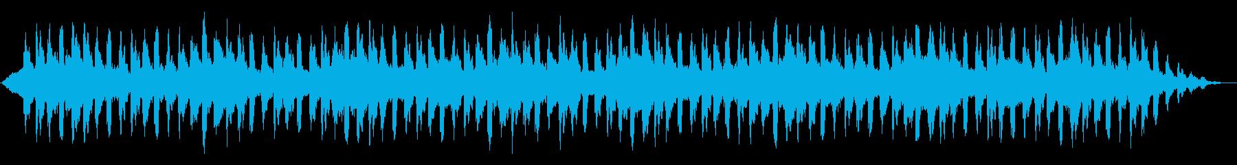 神秘的 穏やか リラクゼーション4の再生済みの波形