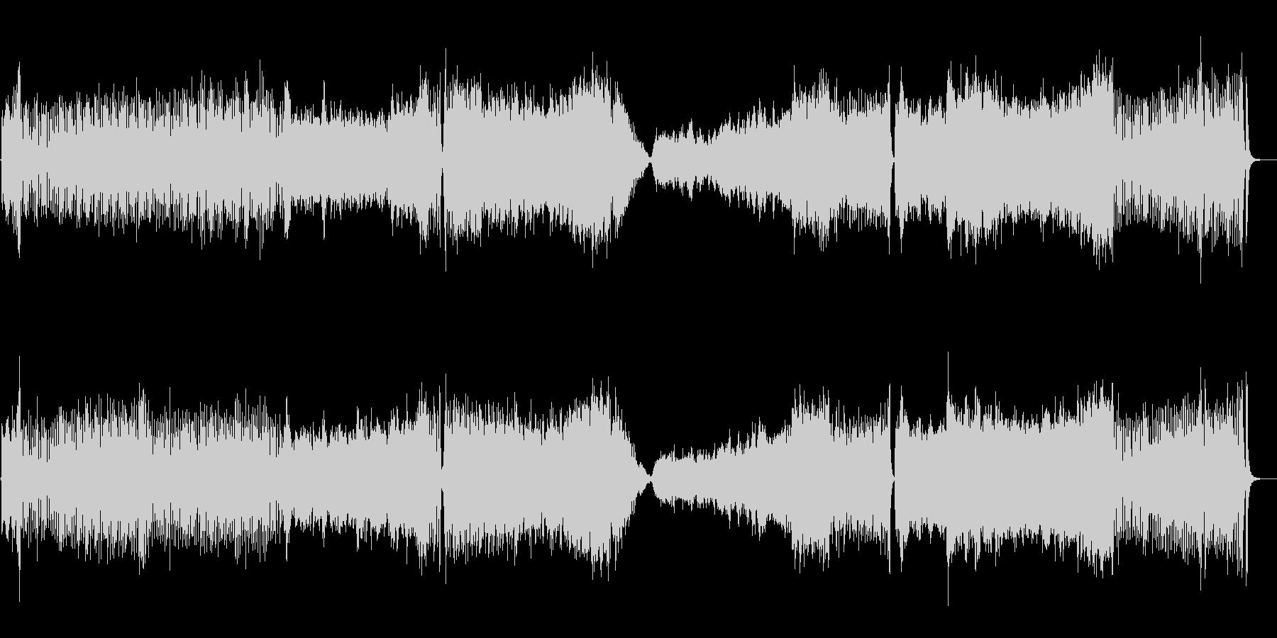 フルオーケストラのOPテーマの未再生の波形