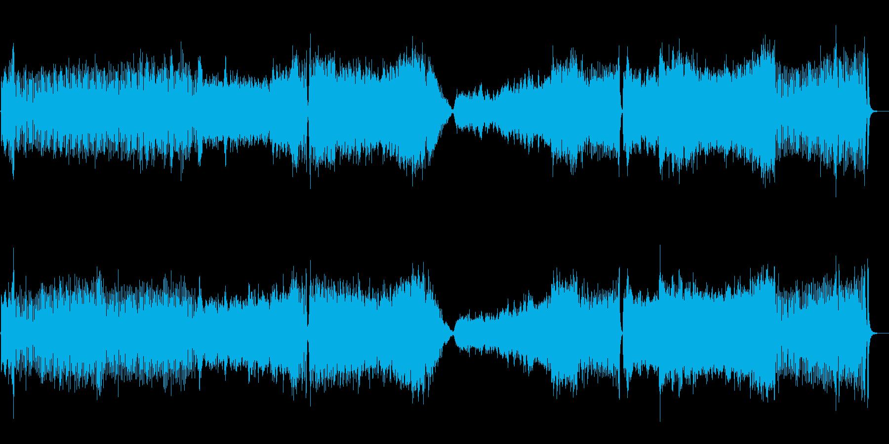 フルオーケストラのOPテーマの再生済みの波形