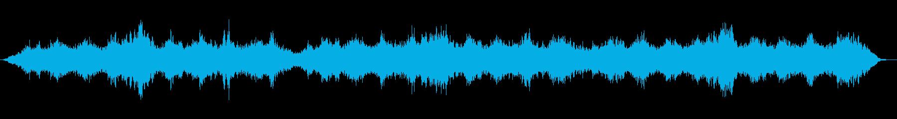 安らぎのアンビエントの再生済みの波形