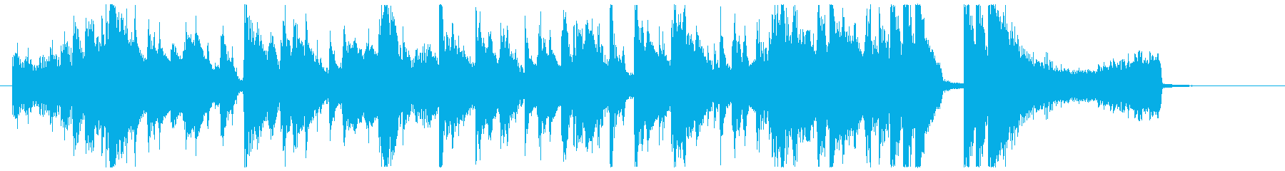 サルサで華やかにゲスト登場の再生済みの波形
