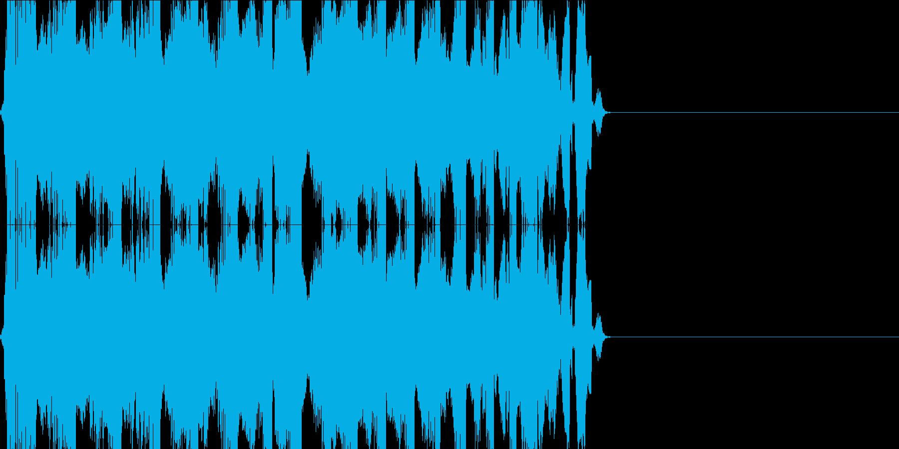 キュルキュル(VHS)の再生済みの波形