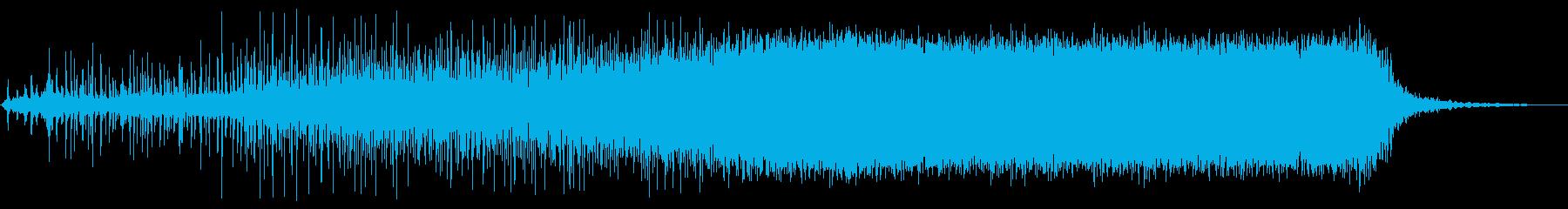 エアレンチ空気圧、回転中速、開始、...の再生済みの波形