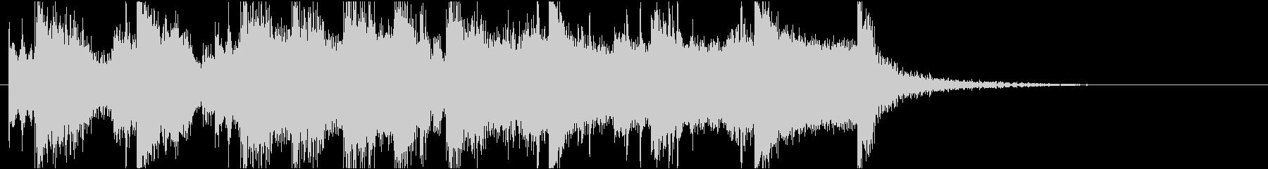 短い前奏曲です。の未再生の波形