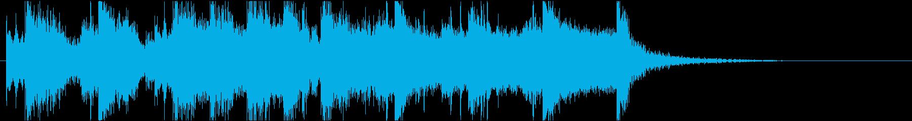 短い前奏曲です。の再生済みの波形