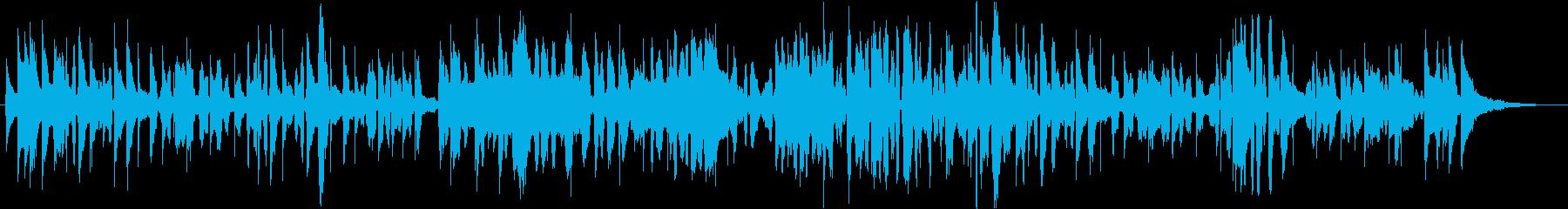 トマトをテーマにした楽曲の再生済みの波形