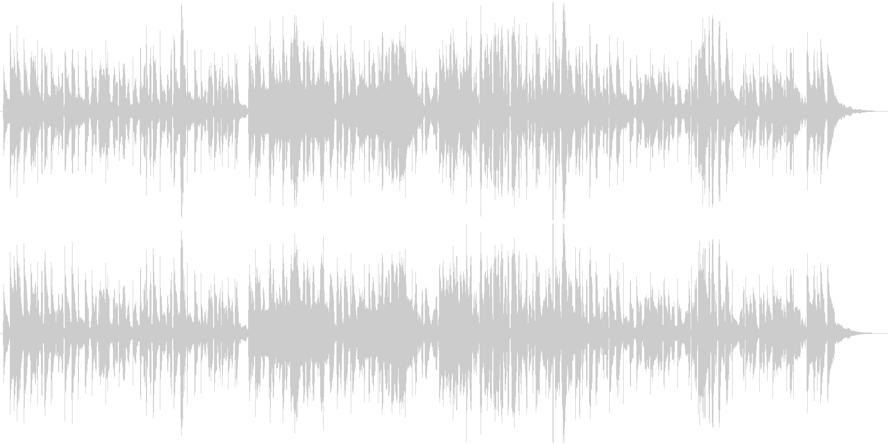 Tomato-themed songs's unreproduced waveform