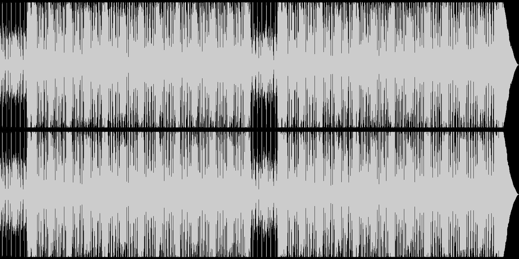 CMや劇伴シンプルでノリの良い洋楽ロックの未再生の波形