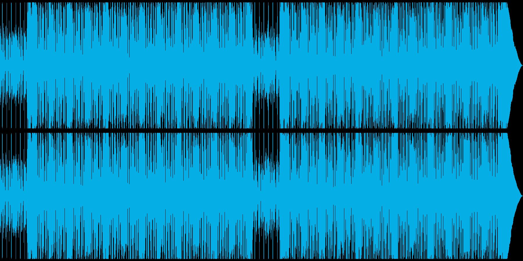 CMや劇伴シンプルでノリの良い洋楽ロックの再生済みの波形