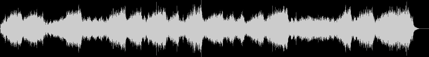 シンセのアドリブソロの未再生の波形