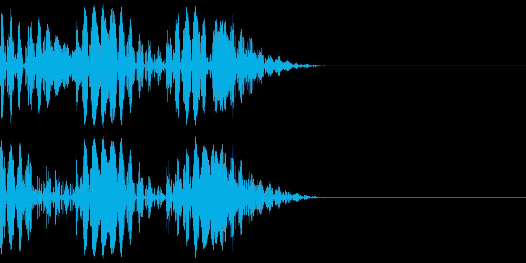 ブニョニョ(マイナスイメージ_毒_連続)の再生済みの波形