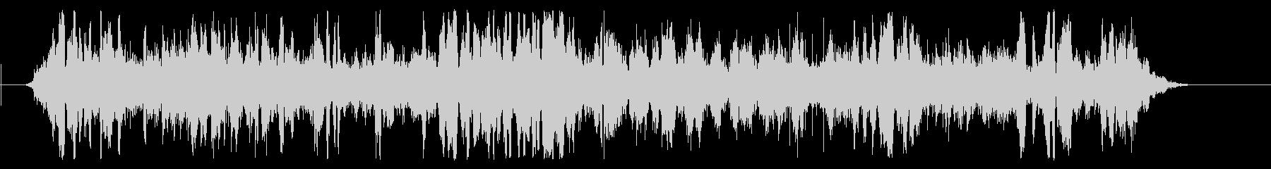 インテリアスチームワゴンの未再生の波形