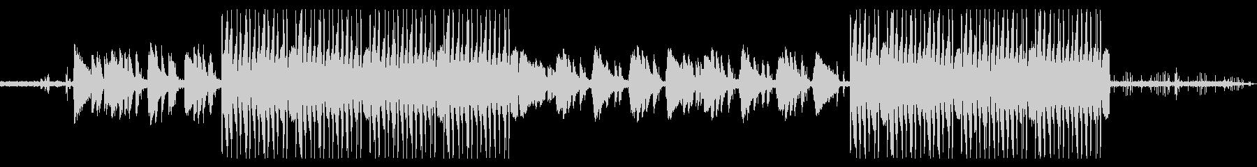 ローファイヒップホップ/韓国系VLOGの未再生の波形