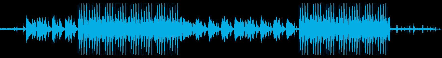 ローファイヒップホップ/韓国系VLOGの再生済みの波形