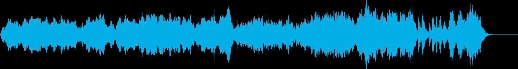 オーボエで奏でる悲しいメロディの再生済みの波形