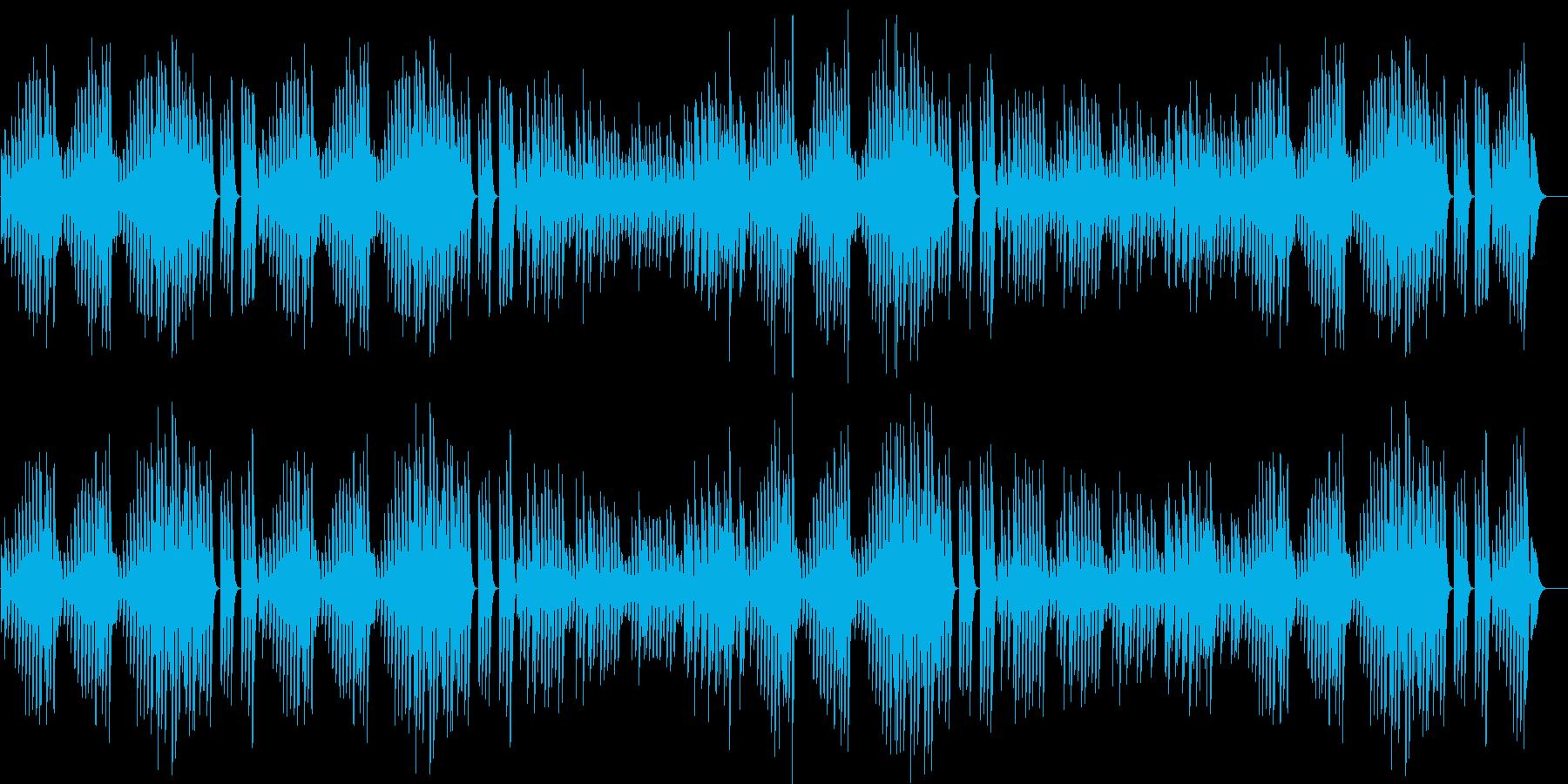 浮き足立つメロディ♪陽気な春ピアノBGMの再生済みの波形