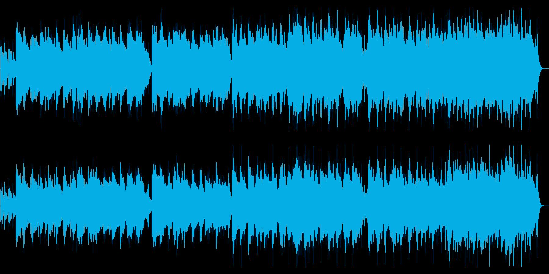 ノスタルジックなトランペットのバラードの再生済みの波形