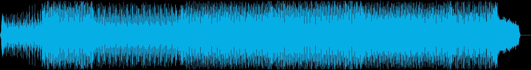 可愛らしいダンスポップ2 声有りの再生済みの波形