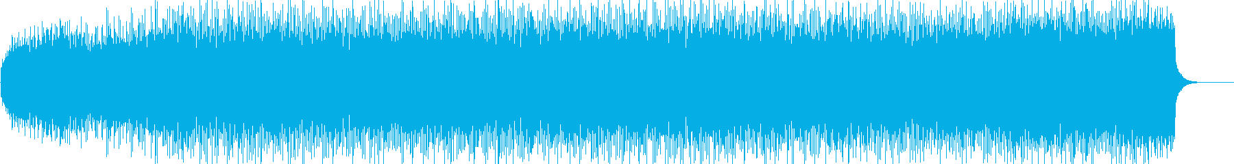 サイエンスフィクション音楽。音楽の...の再生済みの波形