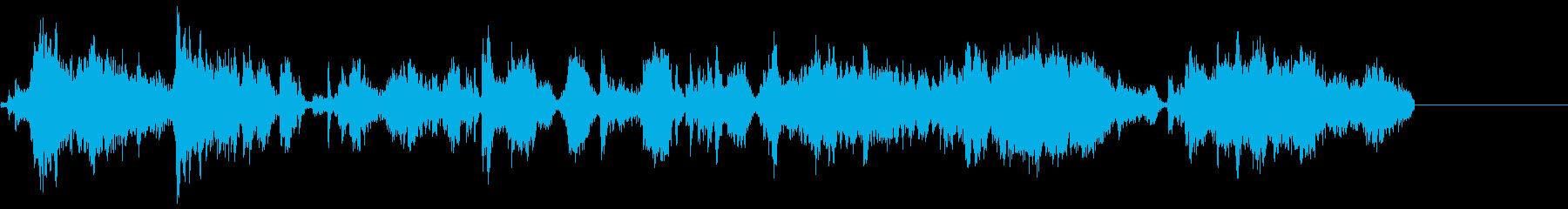 メタルスクレープ;ざらざらした表面...の再生済みの波形