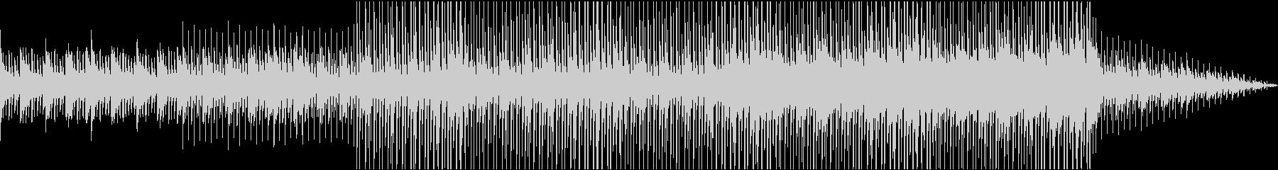 壮大なピアノストリングスの未再生の波形