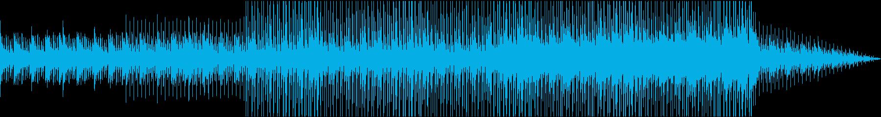 壮大なピアノストリングスの再生済みの波形