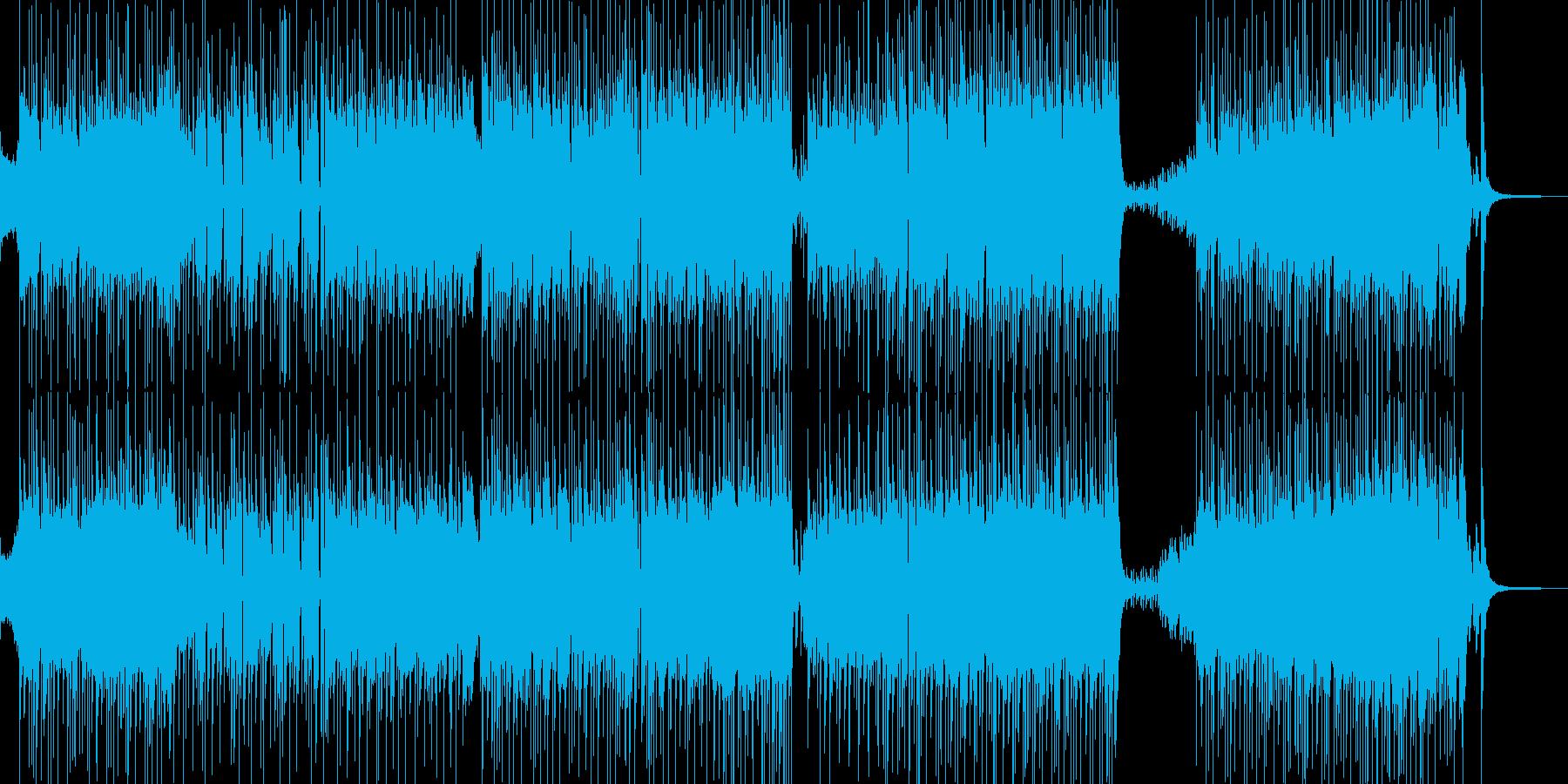 胸キュン・可愛い雰囲気のポップ 短尺★の再生済みの波形