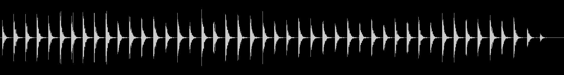 ウッドフロア:カウボーイブーツ:非...の未再生の波形
