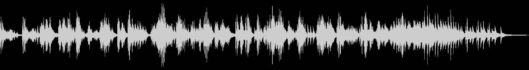 厳か/伝統的な和風曲22-ピアノソロの未再生の波形