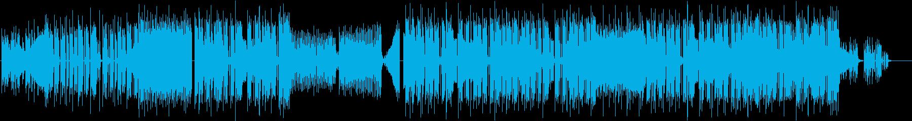 ポップなFuture Bass,EDMの再生済みの波形