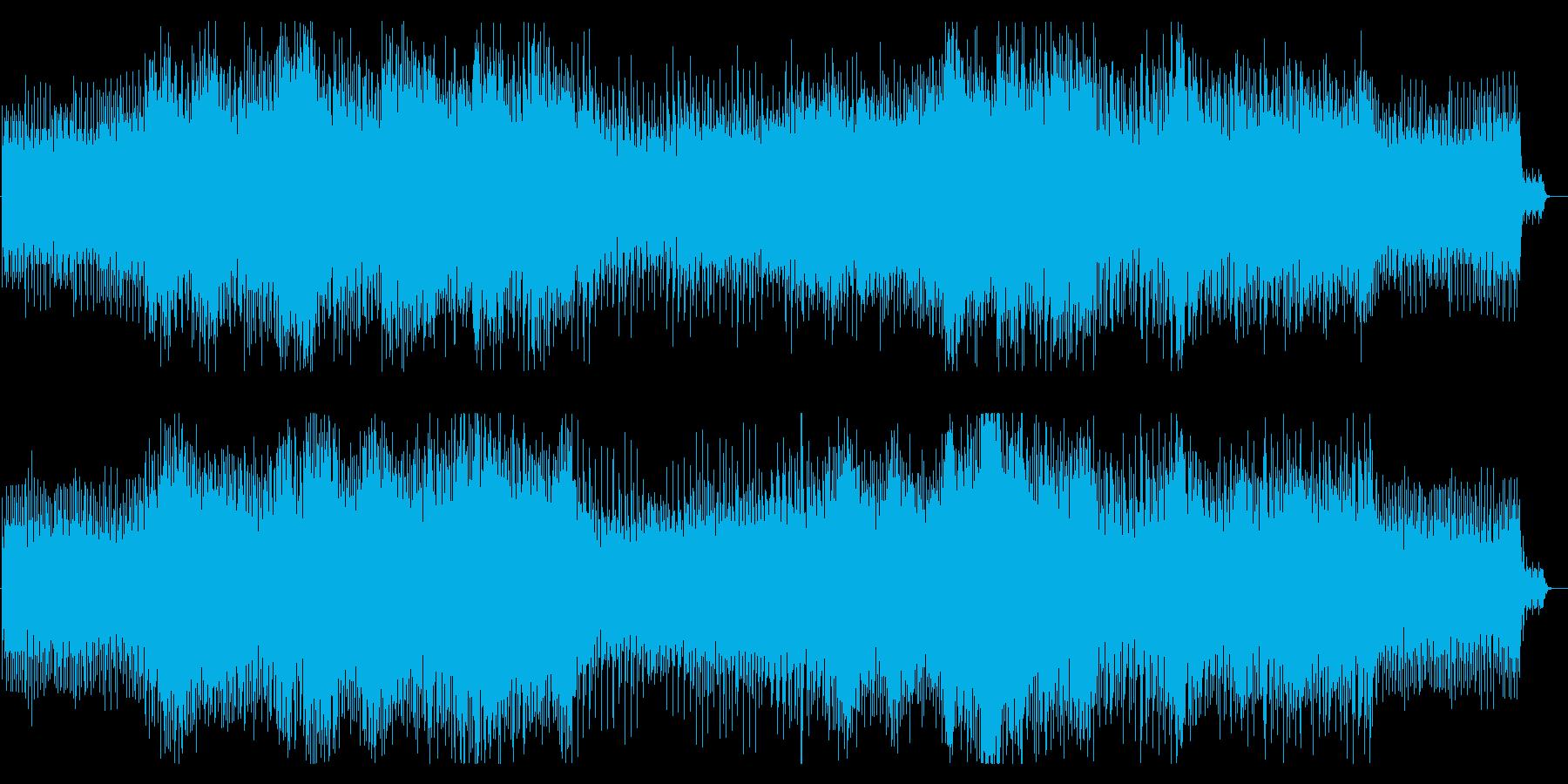 シリアスでスリリングなアンビエントテクノの再生済みの波形