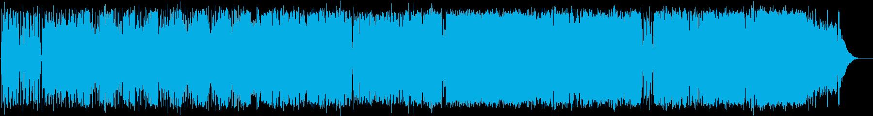 英語洋楽:中期ビートルズ・ポップスの典型の再生済みの波形