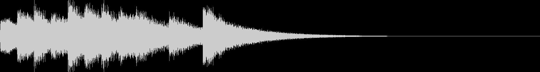 キンコカンコン キンコンカンコン の満点の未再生の波形