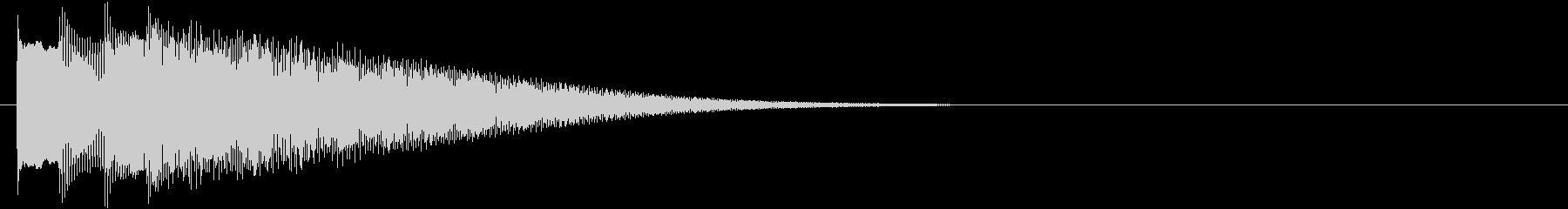 フレーズ系03 文字、テロップ表示(小)の未再生の波形