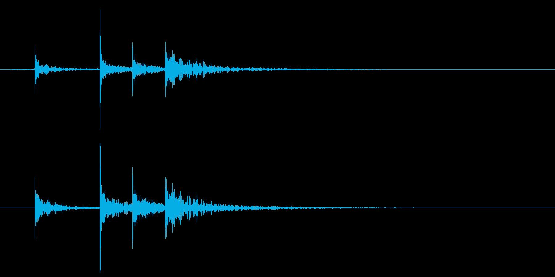 「タッタカタン」 太鼓 和風 お祭りの再生済みの波形