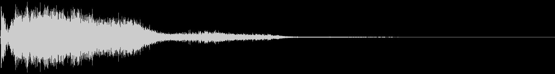 249 FXビーム音(2)の未再生の波形