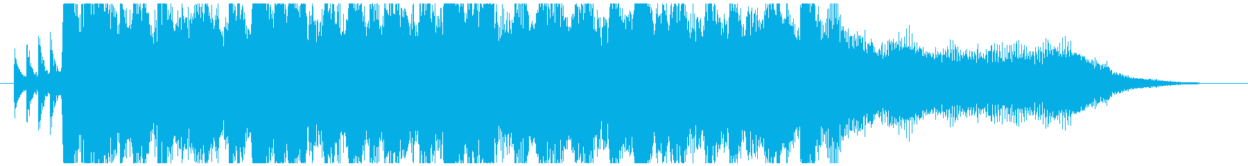 環境にやさしい事業紹介のCM曲-15秒の再生済みの波形