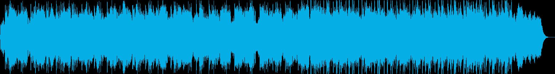 チェロによるバラードの再生済みの波形