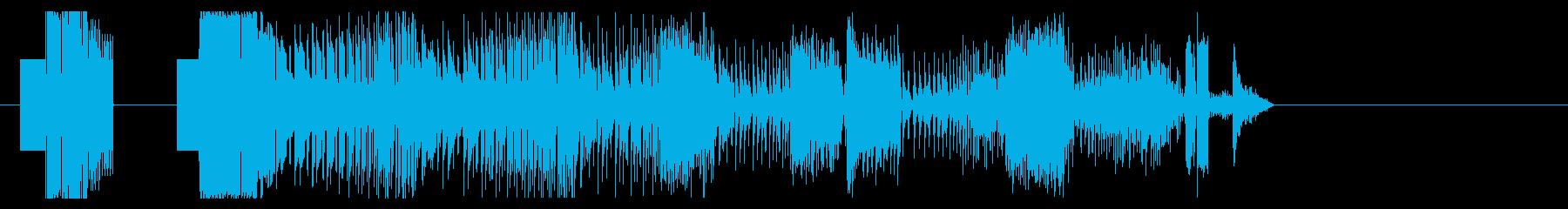 KANT8bit効果音08244の再生済みの波形