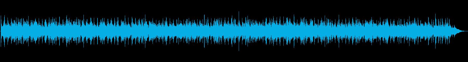 秋風を感じるようなアコギのBGMの再生済みの波形