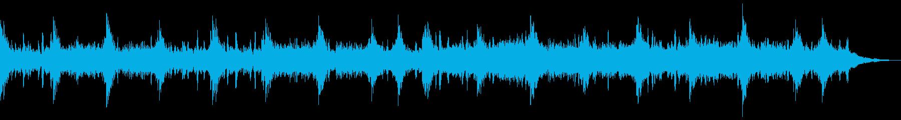 生命自然感動宇宙アンビエントヒーリングcの再生済みの波形