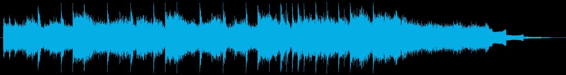 コーナータイトル_格闘技EDMの再生済みの波形