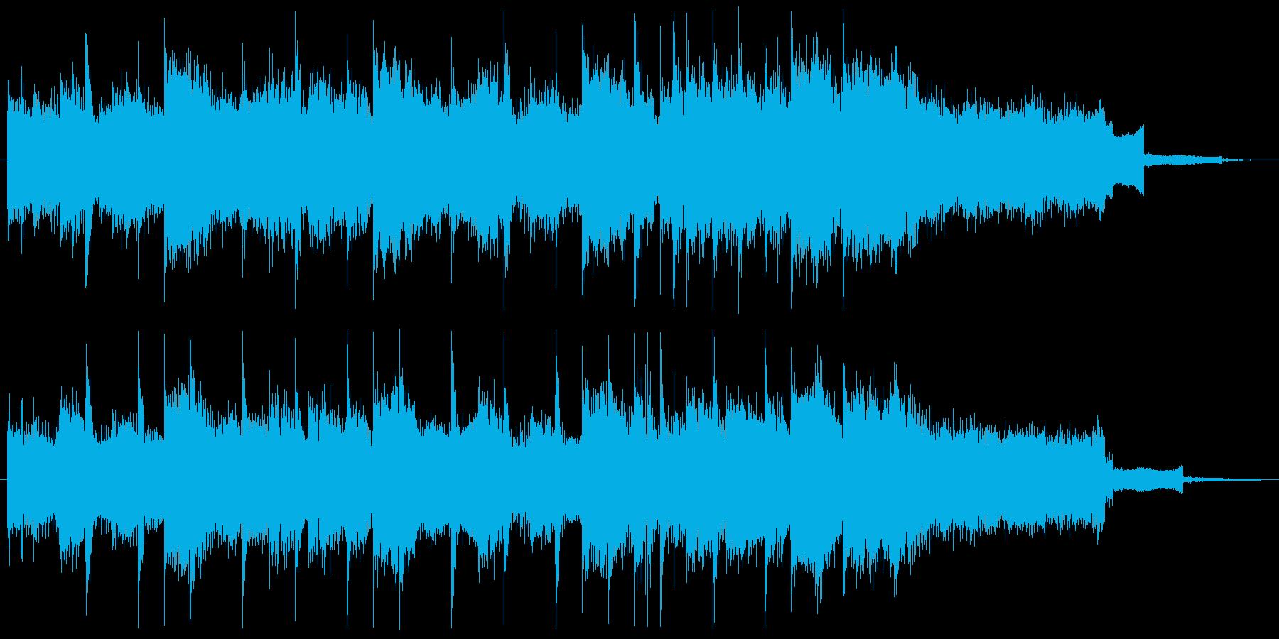 コーナータイトル_EDMの再生済みの波形