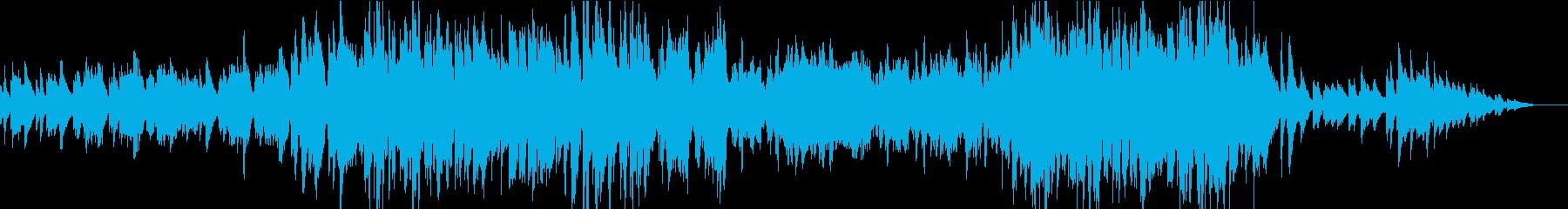 おしゃれなアコーディオンの再生済みの波形