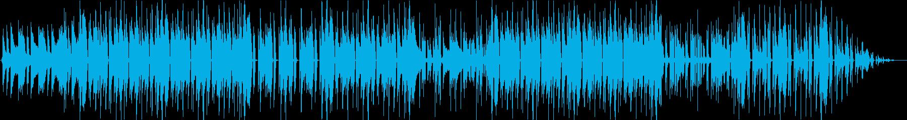 [オシャレ]Jazzy HipHopの再生済みの波形