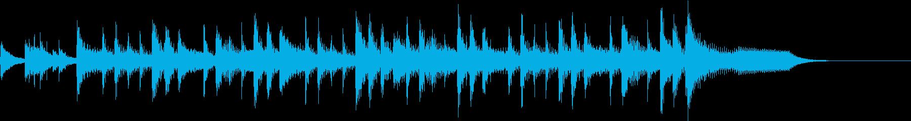 ランチェロリズム、速いテンポ、ピアノなしの再生済みの波形