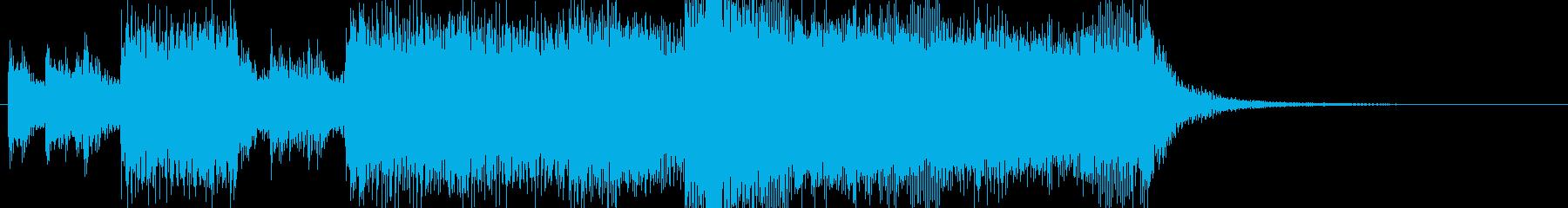 表彰オーケストラファンファーレBGMの再生済みの波形